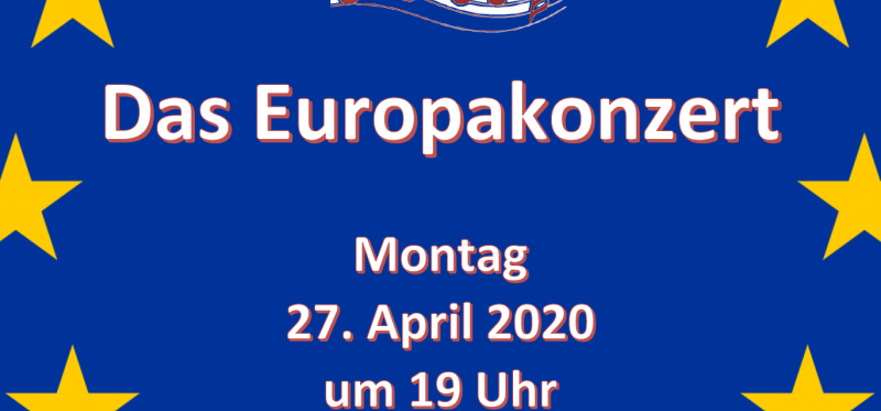 Europakonzert am 27. April im Forum